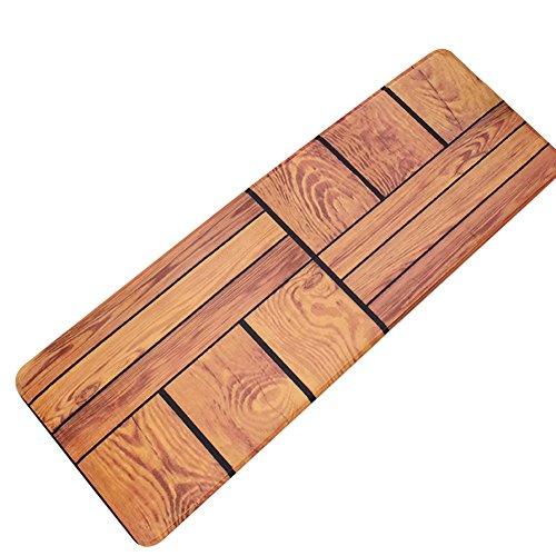 Fastar alfombra de cocina antideslizante,alfombras esteras anti-suciedad absorbentes de aceite para la cocina 40 x 120 cm