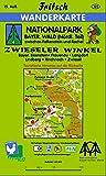 Nationalpark Bayerischer Wald (Nördlicher Teil) Zwieseler Winkel: Bayerisch Eisenstein, Frauenau, Langdorf, Lindberg, Rinanach, Zwiesel (Fritsch Wanderkarten 1:35000)
