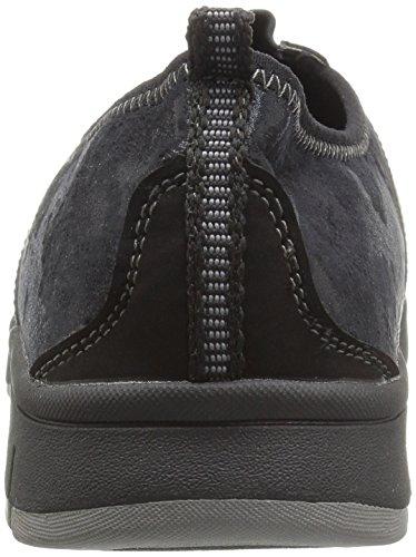 Easy Street Kila Femmes Toile Baskets Black Shimmer