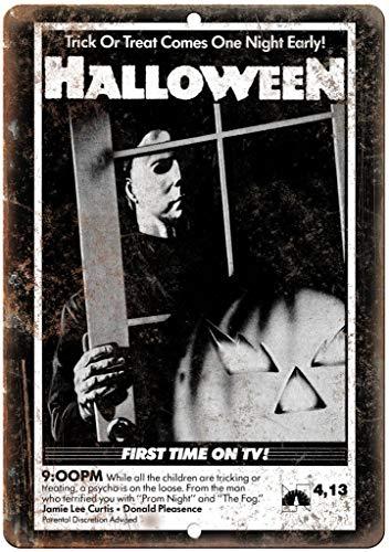 Forry Halloween Movie Metall Poster Retro Blechschilder Vintage Schild Zum Cafe Bar Garage Wohnzimmer Schlafzimmer Haus Restaurant Hotel