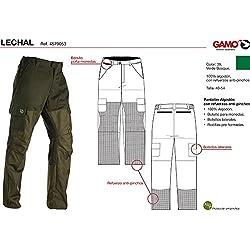 Gamo Outdoor Lechal Pantalones, Hombre, Verde Bosque, 40