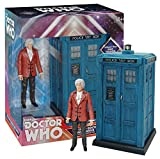 The Third Doctor and Tardis Collector Figure Set