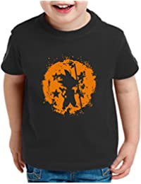 Son Bruch Camiseta Para Niños T-Shirt Goku Dragon Master Ball Vegeta Turtle Roshi Db