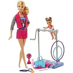 Barbie quiero ser entrenadora de gimnasia