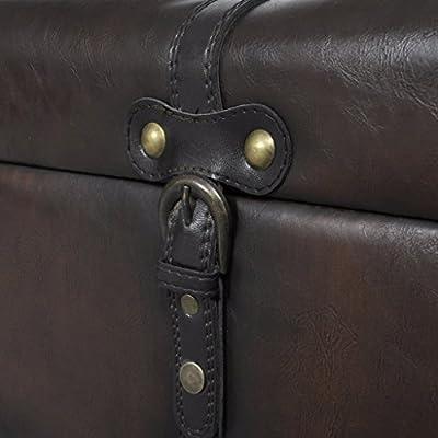 3 tlg. Sitztruhe Sitzbank Aufbewahrungstruhe Sitzhocker Sitzset Braun von vidaXL bei Gartenmöbel von Du und Dein Garten