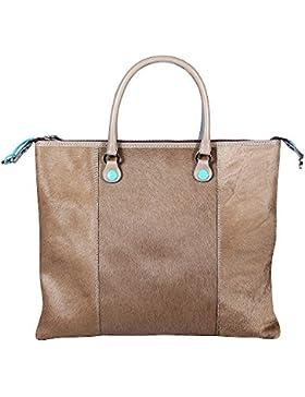 Gabs Damen Handtasche G3-I17 CVES 2009 Taupe Tg. M(grau)