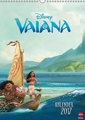 Preisvergleich Produktbild Vaiana (Wandkalender 2017 DIN A3 hoch): Das ideale Geschenk für alle Fans des aktuellen Disneyfilms (Monatskalender, 14 Seiten ) (CALVENDO Spass)