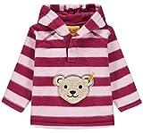 Steiff Mädchen Sweatshirt 1/1 Arm Fleece, Rot (Anemone|Red 2144), 98