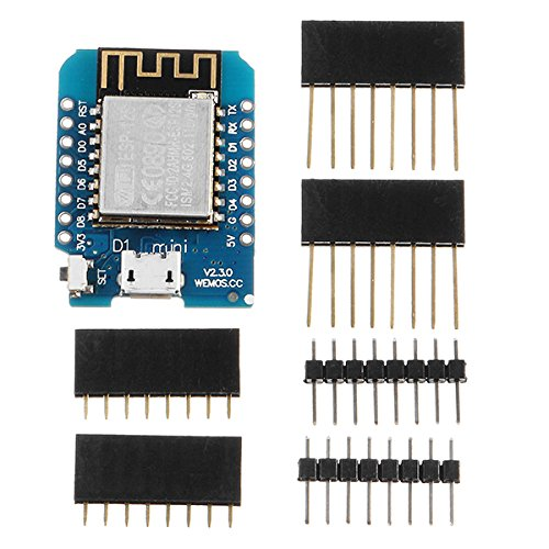 Ladicha Wemos D1 Mini V 2.3.0 Wifi Internet Of Things Développement Board Based Esp8266 Esp-12 4Mb Flash