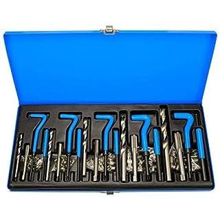 131tlg. Innen - Gewindereparatur M5-M6-M8-M10-M12 Instandsetzung wie Heli - Coil CGRW131-14