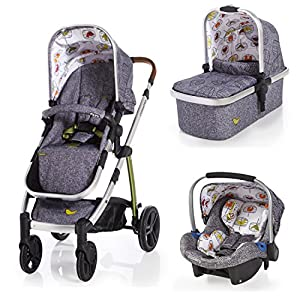 Cosatto Wow Travel System With Port Car Seat - Dawn Chorus   1