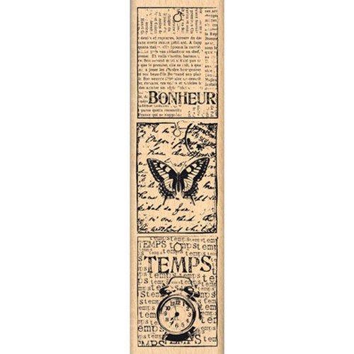 Florilèges Design ff213014Stempel Scrapbooking Kleine Etiketten Vintage Beige 15x 4x 2,5cm