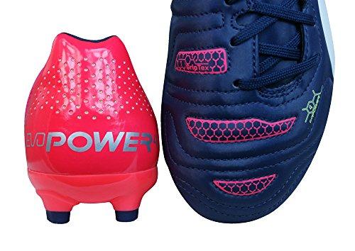 Puma evoPOWER 4.2 AG Unisex-Kinder Fußballschuhe Multi