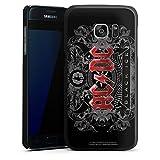 Samsung Galaxy S7 Hülle Case Handyhülle Acdc Merchandise Fanartikel Black Ice