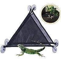 Lembeauty - Hamaca de Malla Transpirable para Animales pequeños, para Lagarto y Geckos, Serpientes o cangrejos, 2 Unidades