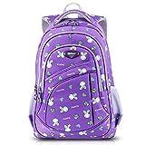 AnKoee Kinderrucksäcke Schultasche Daypacks Backpack für Kinder Mädchen Jungen Jugendliche Schulrucksäcke mit Gurt 30cm x 15cm x 45cm / 11.8