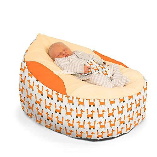 Little Fox Gaga Sitzsack für Babys