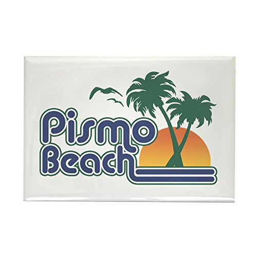 CafePress Pismo Beach Rechteck Magnet-Standard mehrfarbig