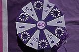 Tolle Torte 6 Geldgeschenkverpackung aus Papier zum 40.Geburtstag, Geld verschenken, Geschenkverpackung