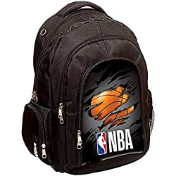NBA Basket USA - Sac à Dos NBA 45 CM Haut de Gamme - Collection Black Legend RIP