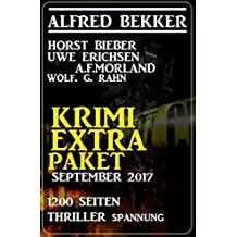 Krimi Extra Paket September 2017 - 1200 Seiten Thriller Spannung