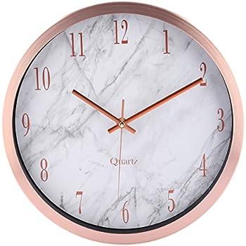Horloge Murale - Foxom 30cm horloge Pendule murale Silencieuse ...