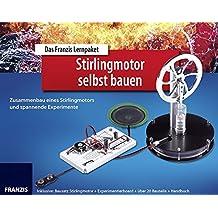 Das Franzis Lernpaket Stirlingmotor selbst bauen, Bausatz Stirlingmotor + Experimentierboard + über 20 Bauteile + Handbu