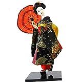 Traditionelle japanische schöne Kimono-Geisha /Maiko Puppe /Geschenke / Deko-A14
