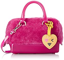 Furla Candy Womens Satchel (Gloss and Pinky)
