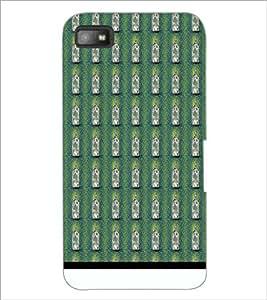 PrintDhaba Bottle Pattern D-1940 Back Case Cover for BLACKBERRY Z10 (Multi-Coloured)
