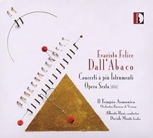 Dall'Abaco: Concerti a piu Istrumenti Opera Sesta
