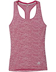adidas Damen Sn Fitted Tnk W T-Shirt, Violett