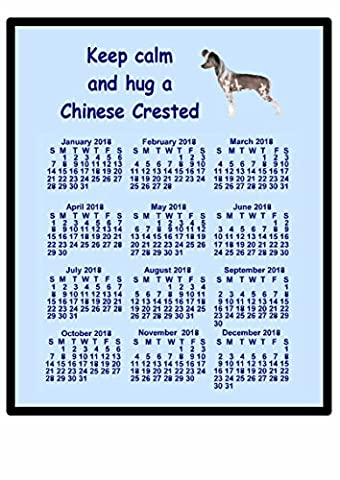 Calendrier Chinois 2016 - Chinois à crête–2016Calendrier Tapis de souris (Keep