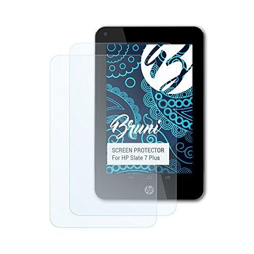7 Hp Slate Plus (Bruni Schutzfolie für HP Slate 7 Plus Folie - 2 x glasklare Displayschutzfolie)
