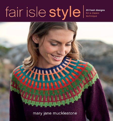 Stricken Mary Janes (Fair Isle Style: 20 Fresh Designs for a Classic Technique (English Edition))