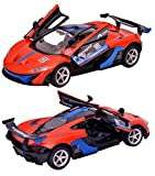 #10: Toyshine 1:16 Superemo Remote Control Car with Opening Doors, Rechargeable, Orange