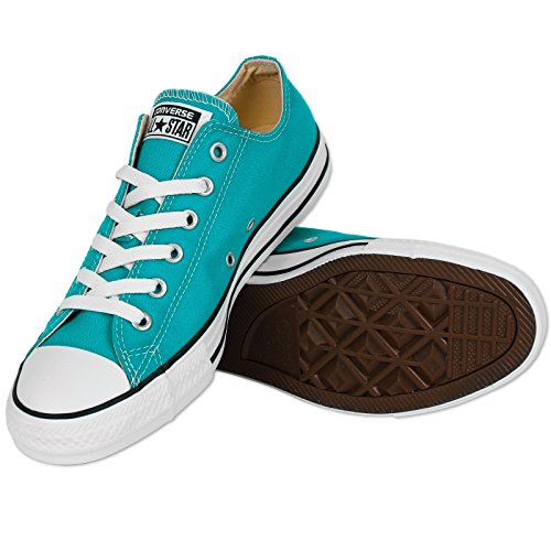 Converse Chuck Taylor All Star Ox Cyan Space Textile Trainers Blu