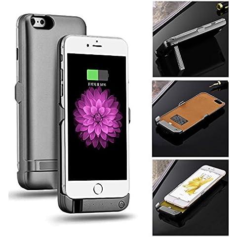 Aursen® Tapa de la batería real banco de la energía 5800mAh para el iPhone 6 / 6S , cargador de batería de reserva externa cubierta de la caja de la batería para el iPhone 6 / iPhone 6S -