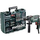Metabo Elektronik Schlagbohrmaschine SBE 650 Set im Kunststoffkoffer 600671870