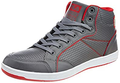 Fila Men's Hooper Grey and Red  Sneakers -11 UK/India (45 EU)