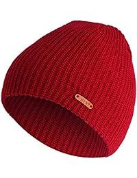 Rcool Cappello Cappelli e Cappellini Berretto Unisex Donna Uomo Inverno  Elegante  e5b3ce347f8f