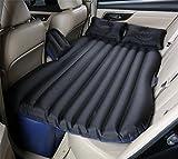 HETAO Auto Bett Air Bett für Auto Auto Auto Aufblasbare Luft Matratze Bett für Rücksitz von Autos SUV und Mid-Size Trucks Outdoor Travel 135 * 83cm, oxford black/split file