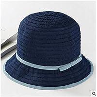LTQ&qing Sombrero de pescador primavera y verano sombra pa?o sombrero protector solar al aire libre , C , m (56-58cm)