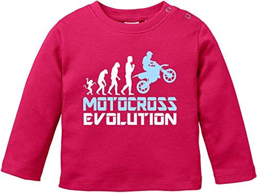 EZYshirt Motorcross Evolution Baby T-Shirt Longsleeve