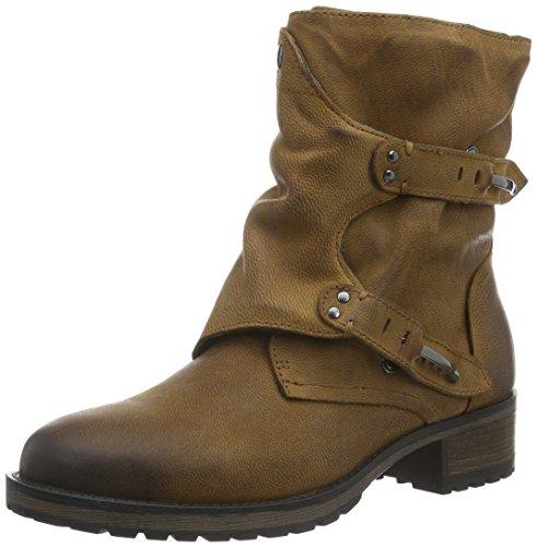 SPMIyam Ankle Boot - Stivali a metà polpaccio con imbottitura leggera Donna , Marrone (Braun (Dk Cuoio 012)), 38 EU