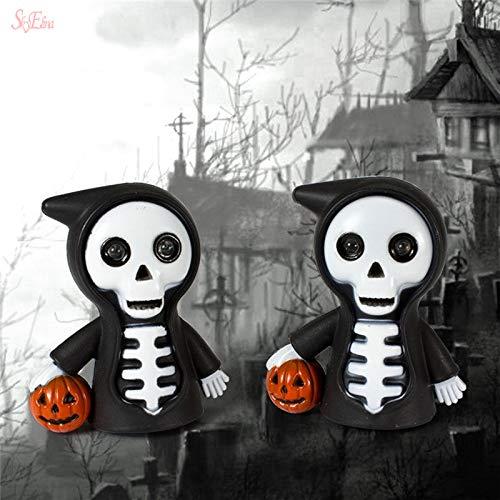 Kürbis Taschenlampe - LZNFLY Halloween Dekoration Halloween Schädel Form