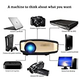 "Video Beamer, VPRAWLS Wifi Full HD Video Projektor Wireless Mini Movie Projektor Portable mit HDMI USB Kopfhörer Jack TV Gut für Heimkino Spiel Film XBOX ONE 120 "" Max Dispaly - 5"