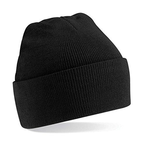Beechfield Strickmütze, verschiedene Farben Schwarz