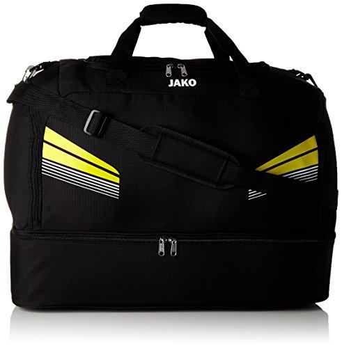 JAKO Trainingssweat Pro Schwarz/Citro/Weiß
