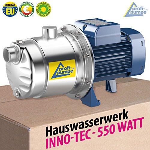 HAUSWASSERWERK KREISELPUMPE AQUA INNO-TEC 1300Watt mit max. 5,6bar und max. 5,5cbm/h - 9